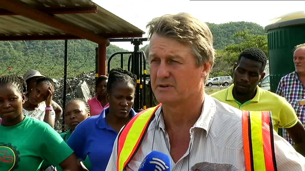 Three mine workers are trapped underground at the Lily Mine