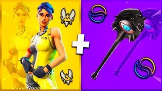 🔥 10 SUPER TRYHARD SKIN COMBOS (Vitality, Solary..) ON FORTNITE!