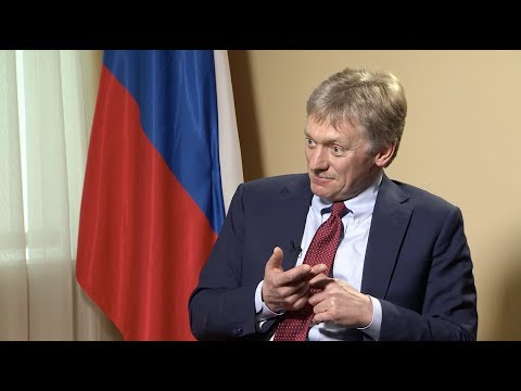 """EXCLUSIVE - Peskov speaks about Scripal case, """"arms race"""" and media"""