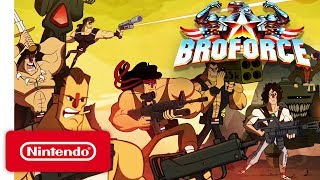 Broforce - Launch Trailer - Nintendo Switch