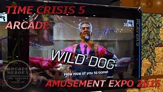 Time Crisis 5 Arcade - Amusement Expo 2015 - Arcade Heroes