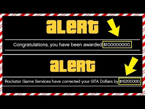 $100,000,000 From Rockstar! Players Getting More FREE Money & Millions Of Dollars - Huge Cash Bonus!