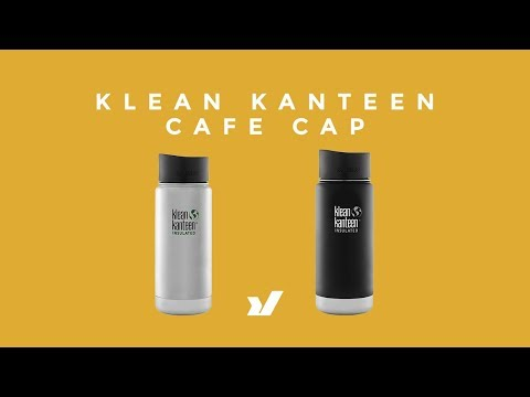 The Klean Kanteen Café Cap Vacuum Insulated Bottle