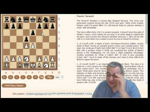 French Defence Tour of main variations - Chessworld.net Improve menu ... Learn from masters