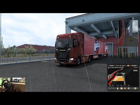 Euro Truck Simulator 2 NEW DLC Iberia - SCANIA R High Roof 730 hp (537kW)  