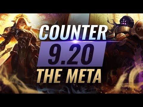 Counter The Meta: BEST Counterpicks For EVERY ROLE - Patch 9.20 - League of Legends Season 9