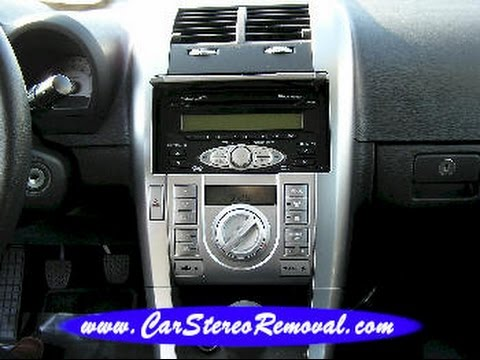 Scion TC Car Stereo Removal