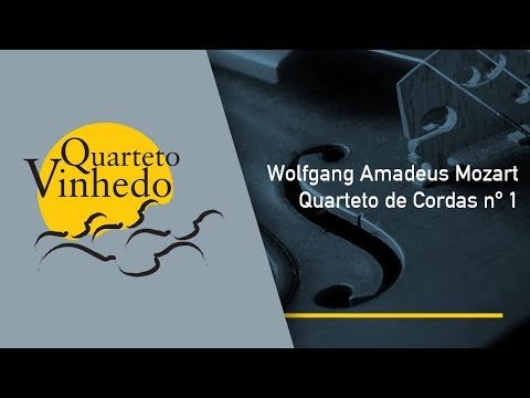Wolfgang Amadeus Mozart - Quarteto de Cordas nº 1
