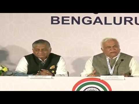 Media Briefing by Gen (Dr.) V.K Singh (Retd) & R.V. Deshpande