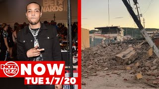 G Herbo Pleads Guilty + DaBaby Calls Out Social Media + Puerto Rico Hit With Multiple Earthquakes.