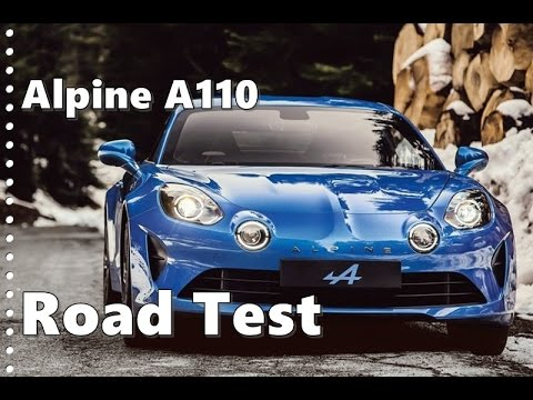 2018 alpine a110 test drive exhaust noise youtube. Black Bedroom Furniture Sets. Home Design Ideas