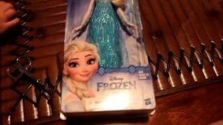 Розпакування ляльки Ельзи, baby doll Elsa, Frozen, Хол