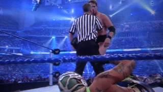 rey mysterio vs jbl wrestlemania 25