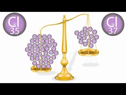 Ions and Relative Atomic Mass