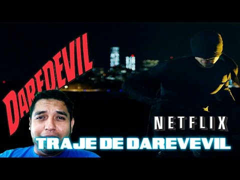 Daredevil, Traje Inicial De La Serie Netflix ElCrisMic