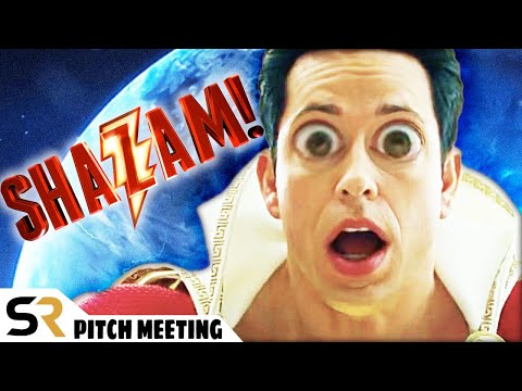 Shazam! Pitch Meeting