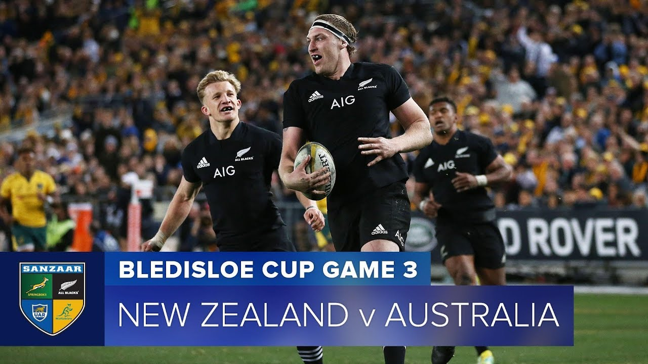 HIGHLIGHTS: 2018 Bledisloe Cup 3 - New Zealand v Australia