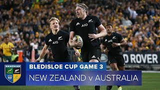 HIGHLIGHTS: 2018 Bledisloe Cup 3 - New Zealand v Australia