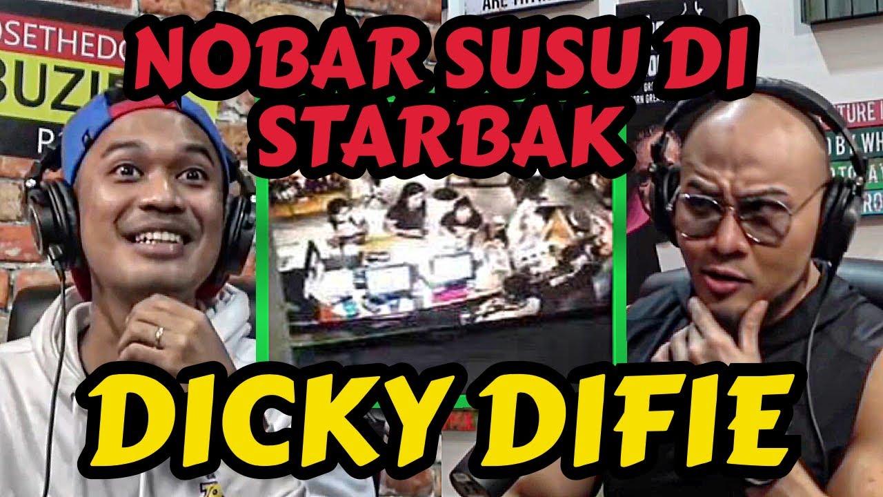 NOBAR SUSU DI STARBAK KAN ASU! - DICKY DIFIE