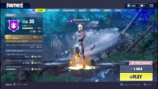 Selling my fortnite account with skull trooper skin and reaper pickaxe