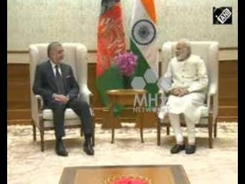 India News - Afghan CEO Abdullah Abdullah meets Indian Prime Minister to boost bilateral ties