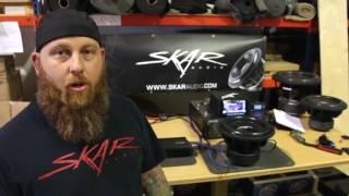 Skar Audio EVL-12 - 2,500 Watt Max Power Subwoofer Unboxing Video