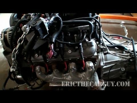 2007 Tahoe 53L Engine Part 1  EricTheCarGuy  YouTube