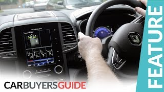 How to use Easy Park Assist in the Renault Koleos