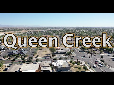 Driving From Queen Creek to Gilbert Arizona