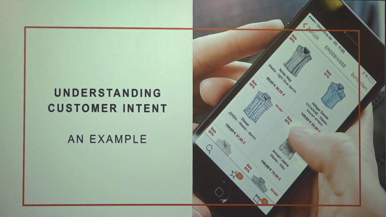 Image from Understanding Customer Intent at Scale in an e-commerce Platform