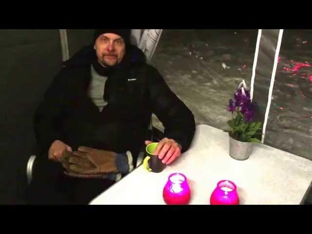 Nordkapp Vintertur 2015 - Video 27 - Isabella Winter fortelt aften