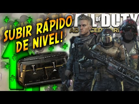 Advanced Warfare - 5 Maneras de subir Rápido de Nivel en Call of Duty Advanced Warfare