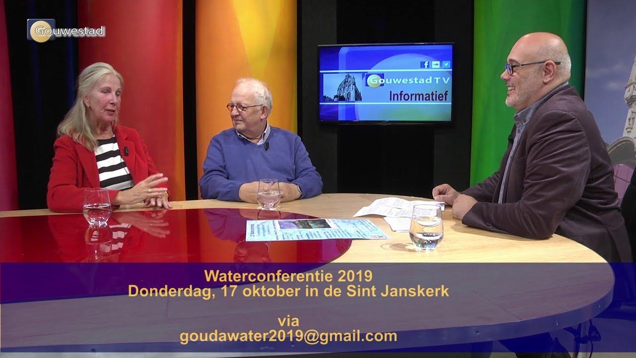 Voorbeschouwing Waterconferentie 2019 - Studiogesprek
