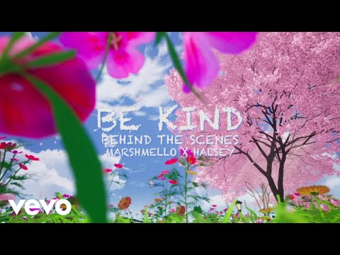"Marshmello & Halsey - ""Be Kind"" (Behind The Scenes)"