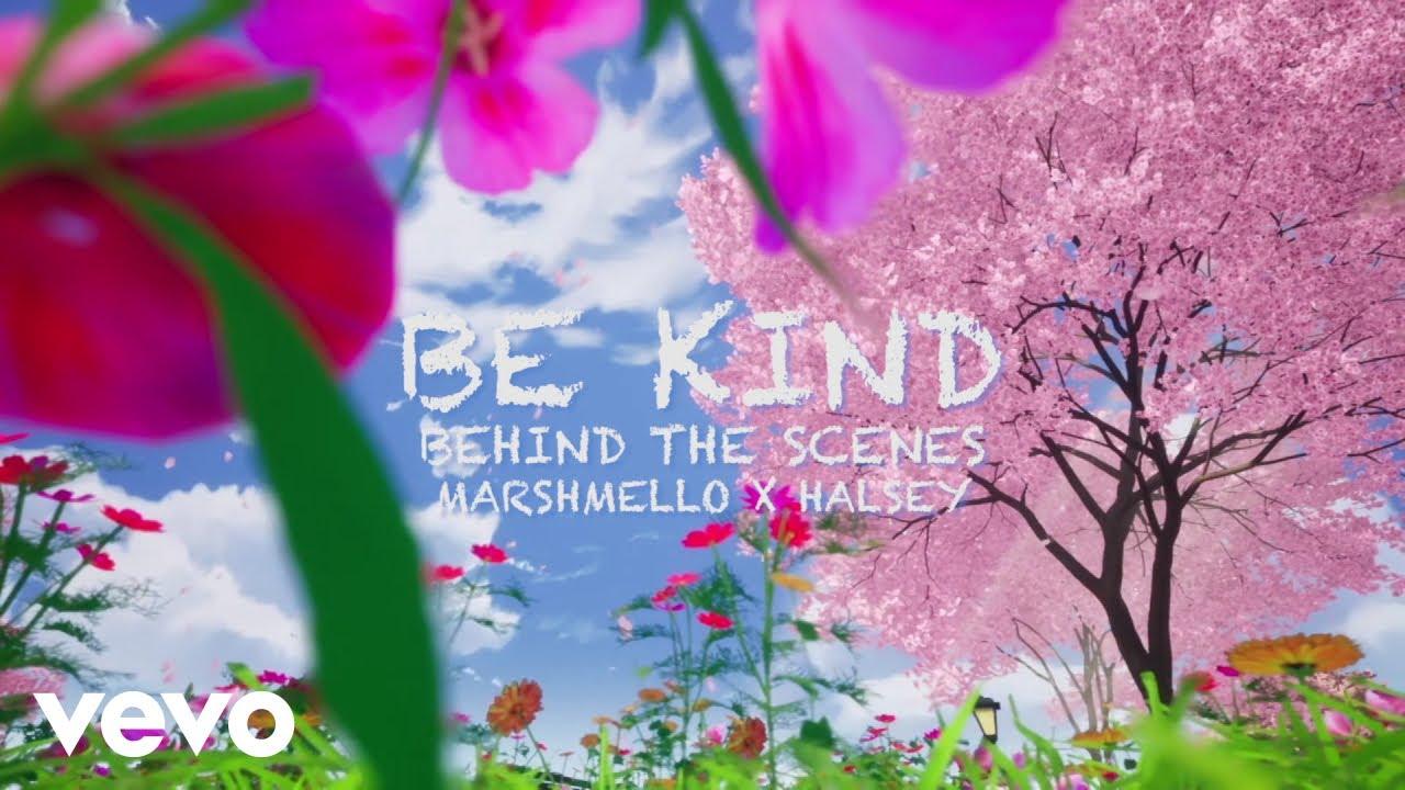 Marshmello, Halsey - Be Kind (Behind The Scenes)