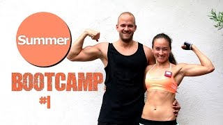 20 Min Hardcore HIIT Workout - Sommer Bootcamp #1 - Fett verbrennen leicht gemacht