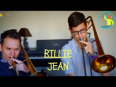 Billie Jean 🎵🔥 (Michael Jackson) Trombone Duo 🎶 Christopher Bill🎤Paul The Trombonist