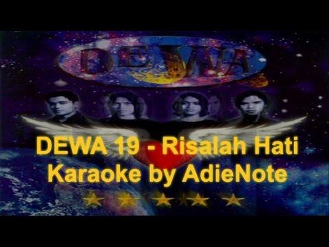 Dewa - Risalah Hati (Karaoke)
