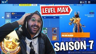SAISON FORTNITE 7: THE NEW ULTIME SKIN OF PALIER 100 (ALL COMBAT PASS)