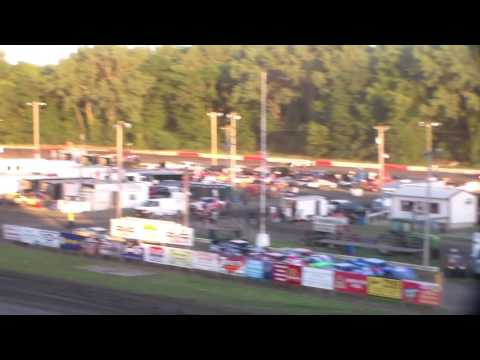 Late Model Heat 1 @ Hamilton County Speedway 07/09/16