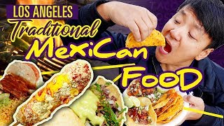 TRADITIONAL Mexican STREET FOOD Tour of Los Angeles thumbnail