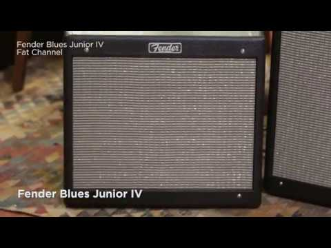Fender Hot Rod IV Amplifiers - Blues Junior™, Hot Rod Deluxe™ and Hot Rod Deville™ Guitar Amplifiers