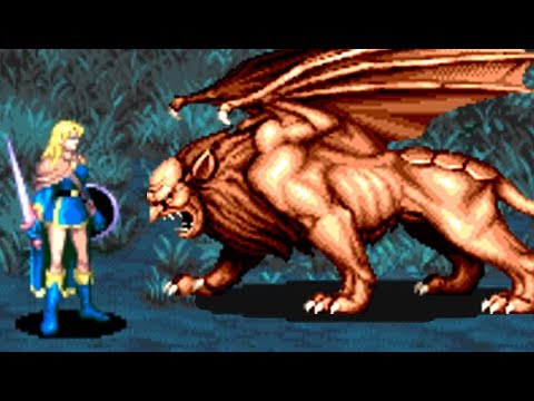 Dungeons & Dragons: Tower of Doom (Arcade) All Bosses (No Damage) |