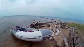 Прогулка на надувной моторной лодке до острова Тайвань Новосибирск.