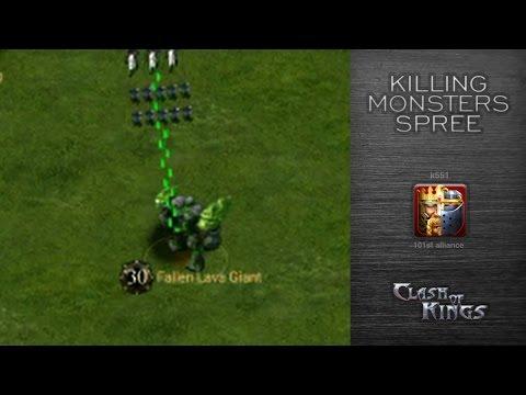 Monster Killing Spree To Get 10k Gold - Strongest Kingdom Stage
