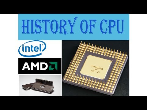 CPU HISTORY IN HINDI (Central Processing Unit)