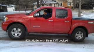 2011 Suzuki Equator Ice Tests