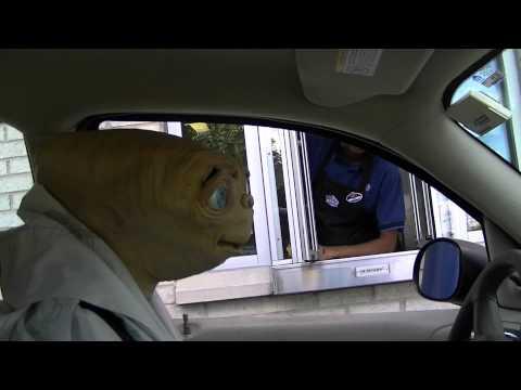 STONE COLD E.T. - Hilarious Drive Thru WWE