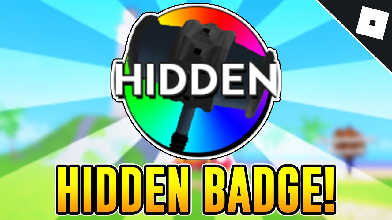 The Hammer Badge Roblox How To Get The Hidden Badge In Ban Hammer Simulator Roblox Youtube