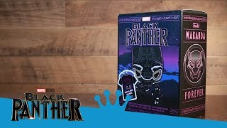 Black Panther Pop! & Tee Collectors Box Unboxing!